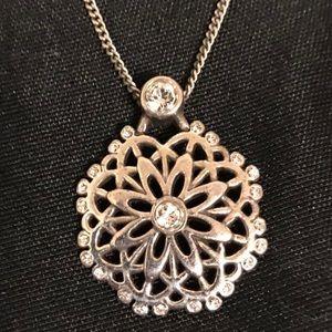 Brighton Swarovski Crystal Necklace Pendant